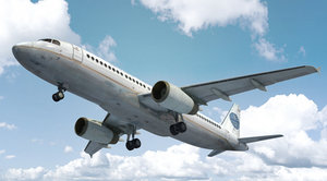 3d commercial airliner
