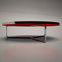 3d cattelan italia billy coffee table