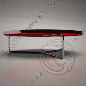 3d cattelan italia billy coffee table