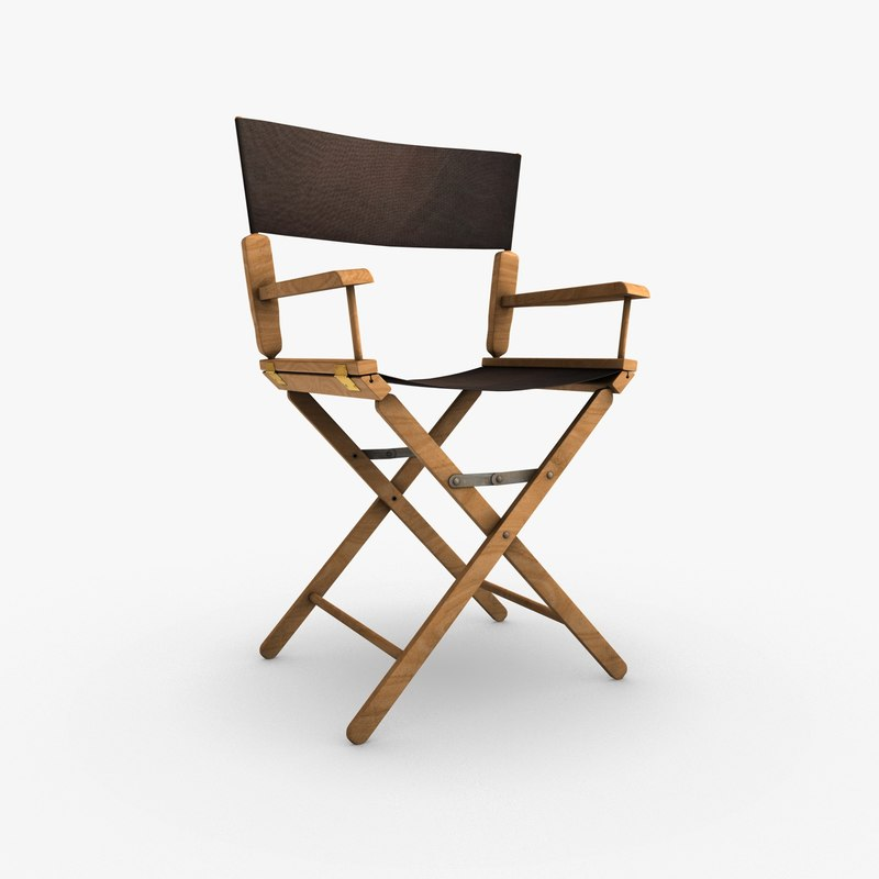 director chair 3d 3ds
