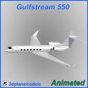 Gulfstream G550 3D models
