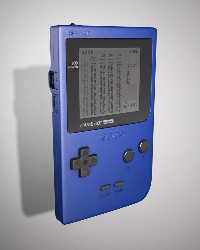 max gameboy pocket handheld