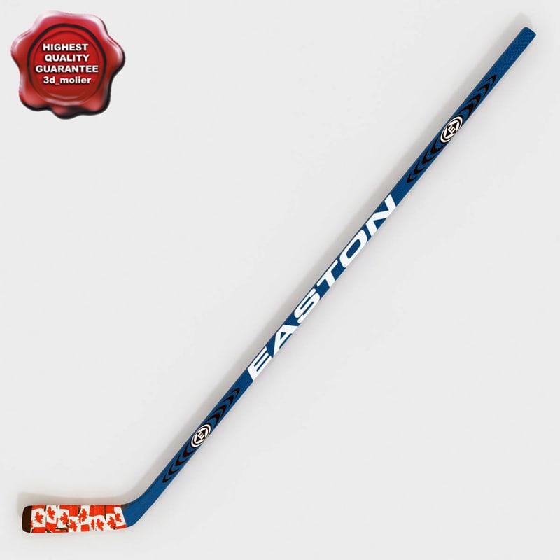 hockey stick v5 3d max