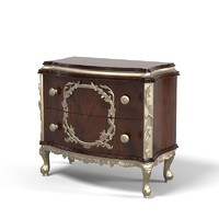 Jumbo Reg-05 Night Table Nightstand baroque carved carving Classic