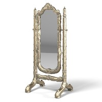 Jumbo Regency Reg-29B Swing Floor Mirror