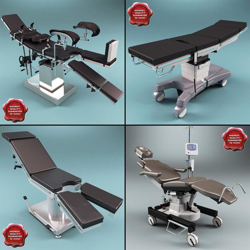 3d model operating tables