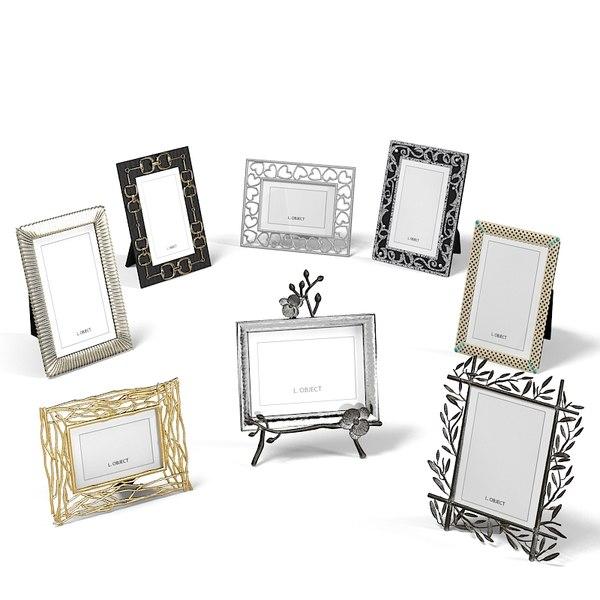 photo frame set obj