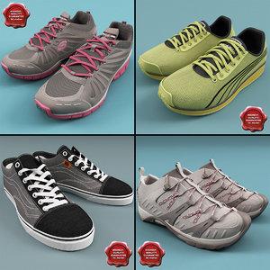3d c4d sneakers v2