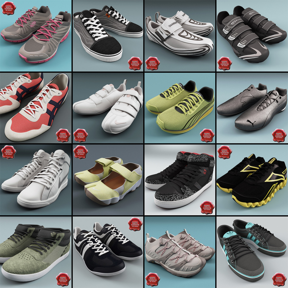 3ds max sneakers v9