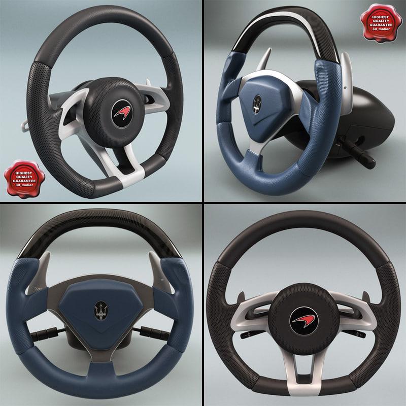 3d steering wheels v3