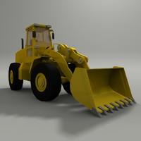end loader 3d model