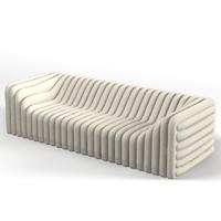 versace bubble sofa 3d model
