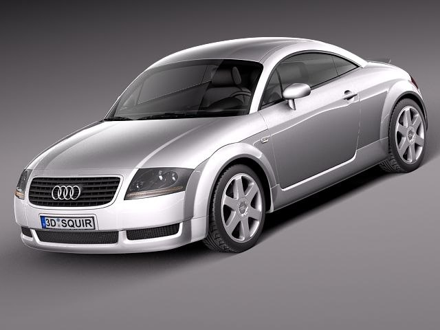 3d model audi tt 1998 2005. Black Bedroom Furniture Sets. Home Design Ideas