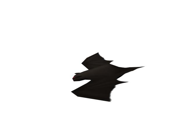 free obj model bat zombie
