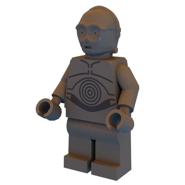 free x mode c-3po lego