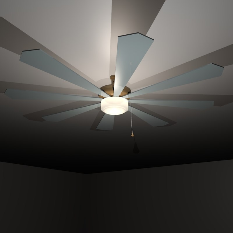 3d 3ds ceiling fan
