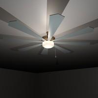 3d 3ds ceiling fan