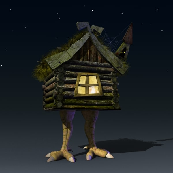 house chicken legs 3d max