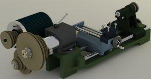 3d portable turning machine