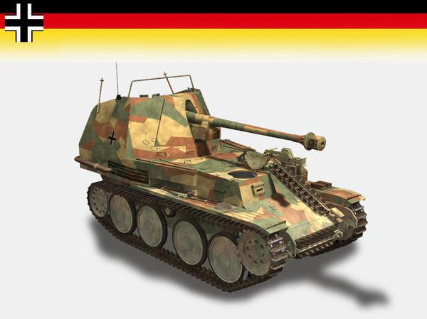 tank marder 3d model