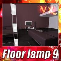 modern floor lamp 09 max