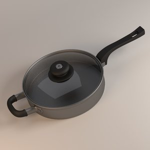 cooking pan 3d model