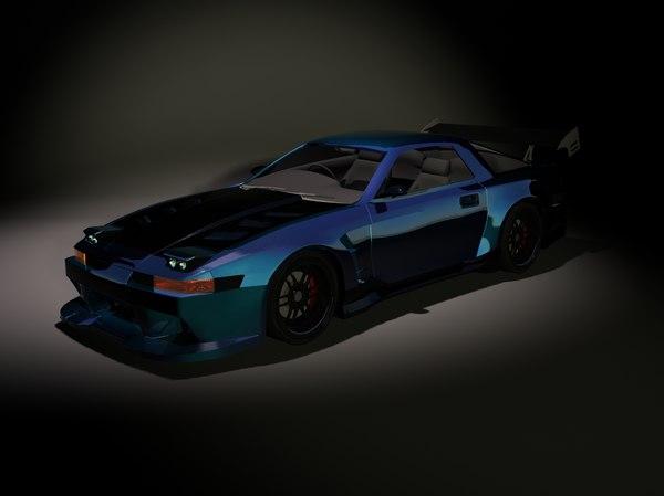 3d model of supra mk3