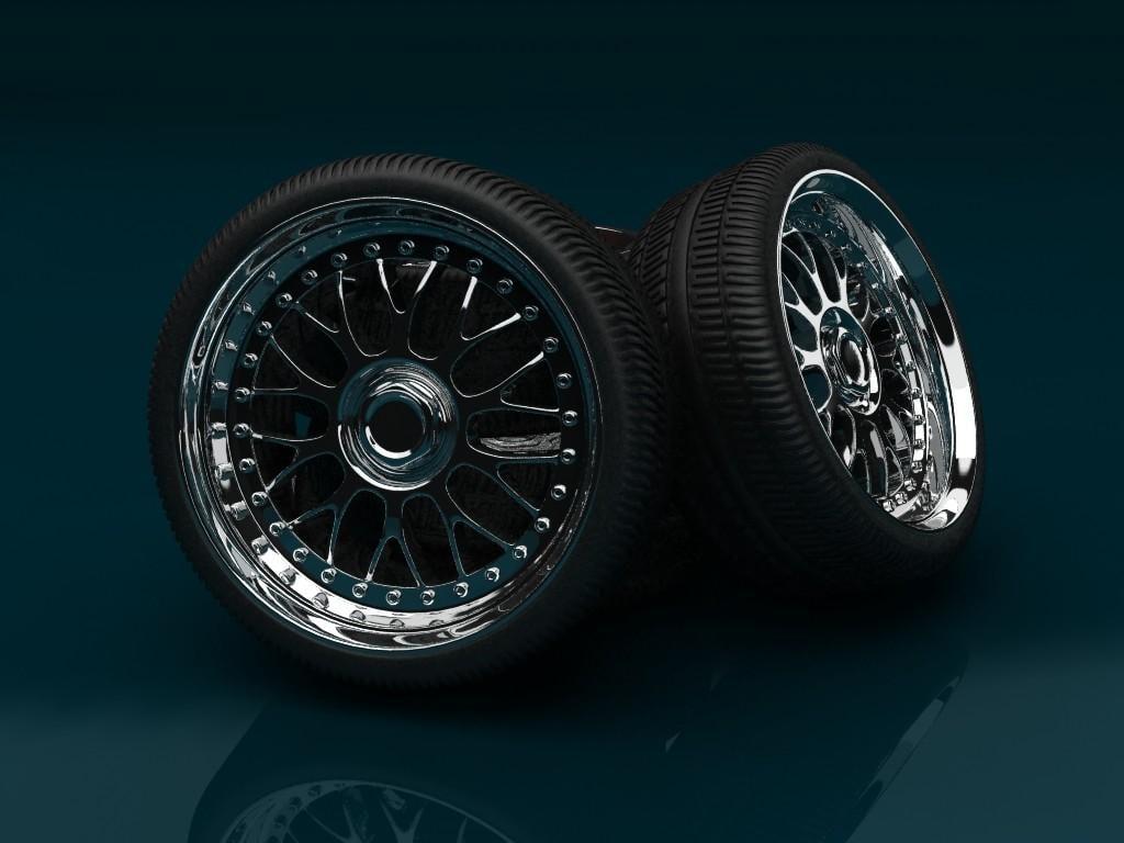 3d model bbs wheel