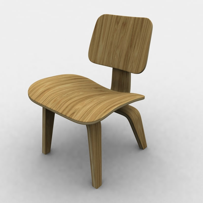 3d eames polywood chair charles