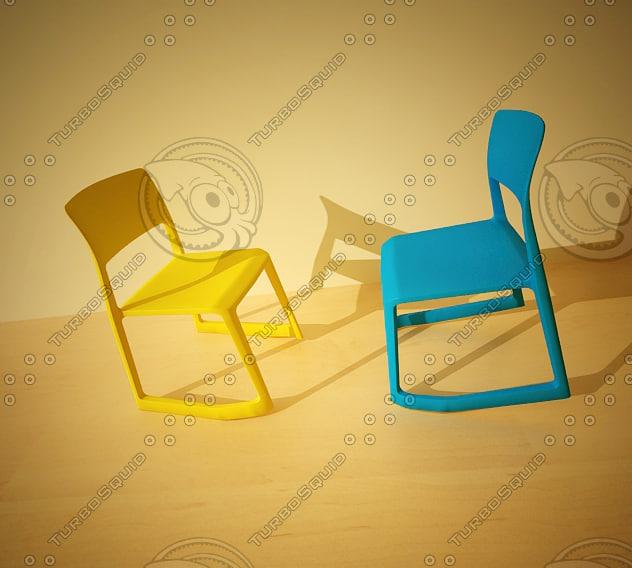 3ds tipton chair vitra