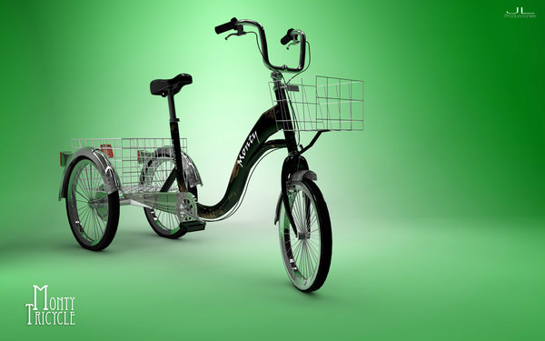 3d bike tricycle