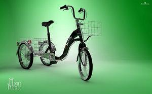 3d bike tricycle