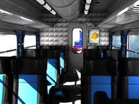 - Train interior scene -(1)