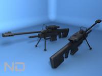 3d srs99d sniper rifle