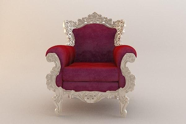 ornate chair max
