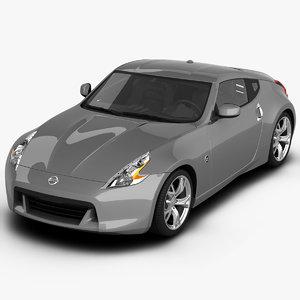 3d model 370z interior hdri