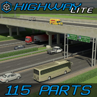 Highway Elements Pack LITE