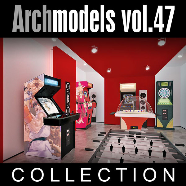 3d model archmodels vol 47 machines