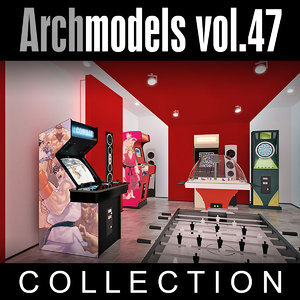 3d model archmodels vol 47 machines