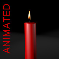 Candle Animated