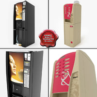 Coffee Vending Machines Collection