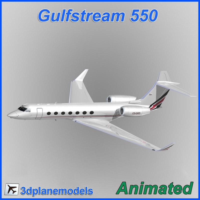 gulfstream g550 obj