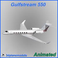 Gulfstream G550 NetJets Europe