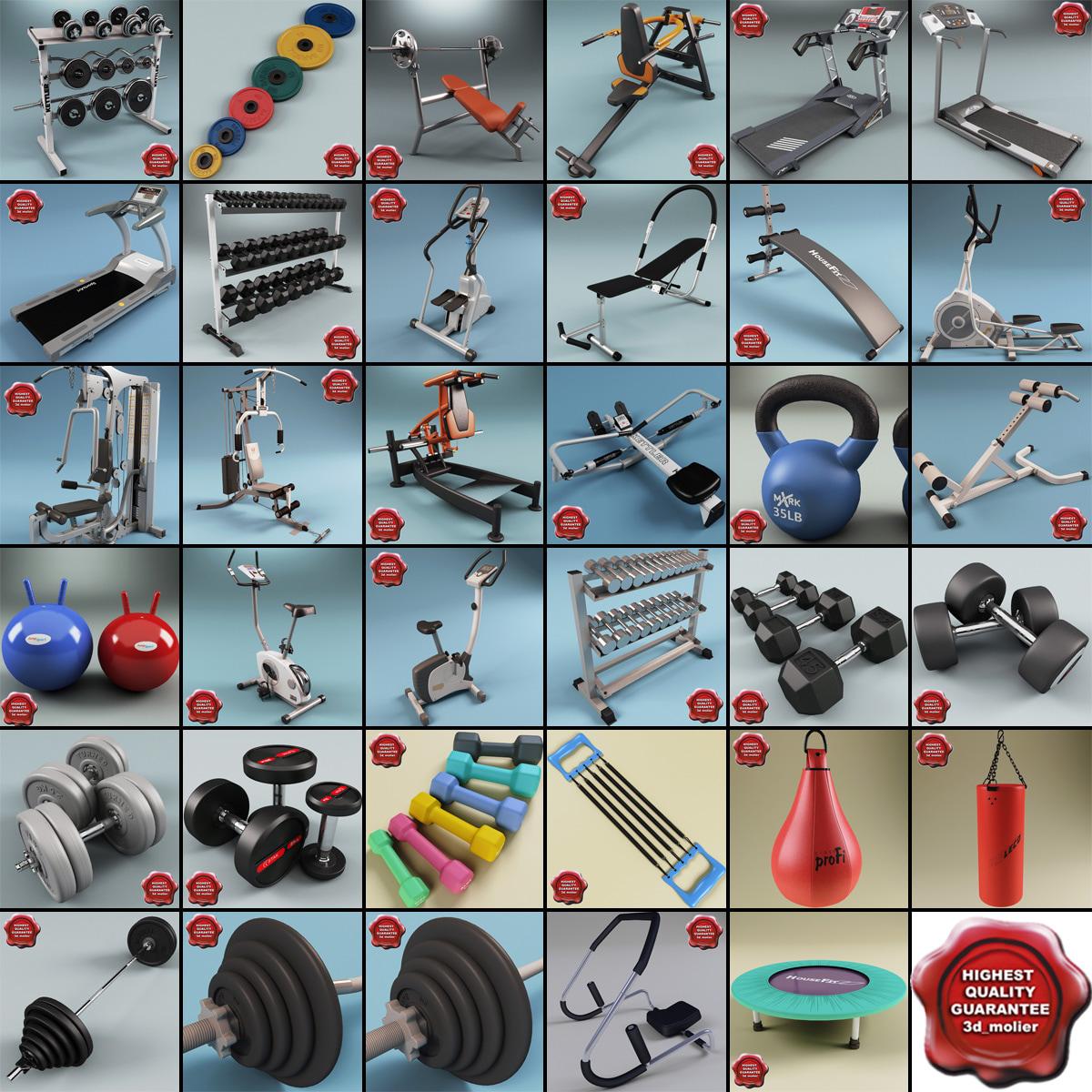 3ds gym equipment v7