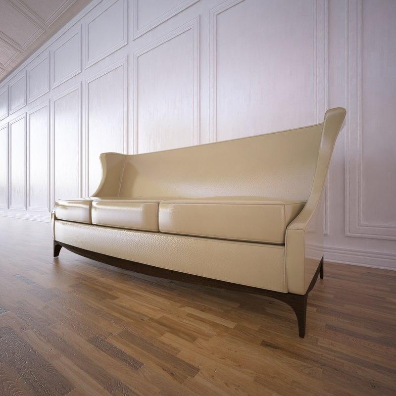 corsica sofa 3d model