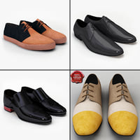 3d men shoes v7