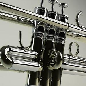 3d trumpet pop brass