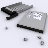 2.5 Inch HDD with Caddy