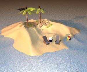 island 3d model