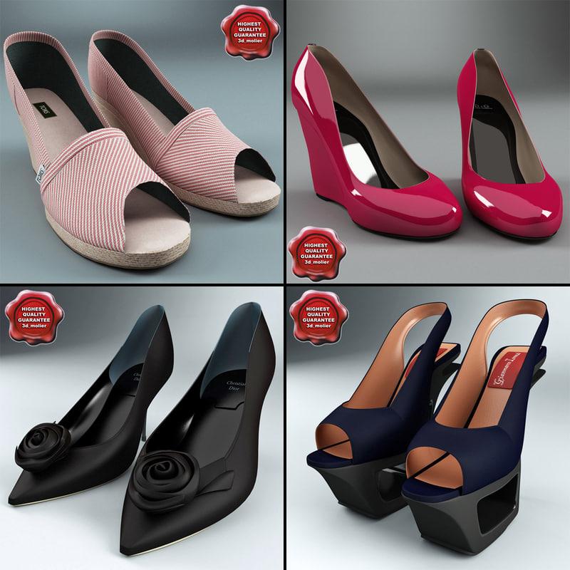 3ds women shoe v4